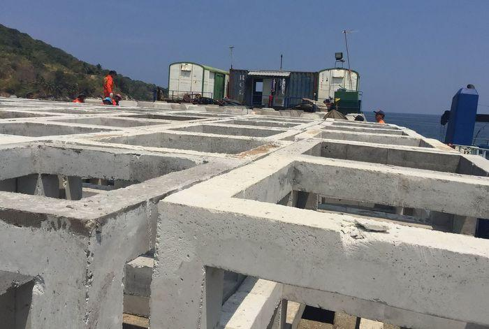 Artificial reef sunk off Tri Trang Beach | The Thaiger