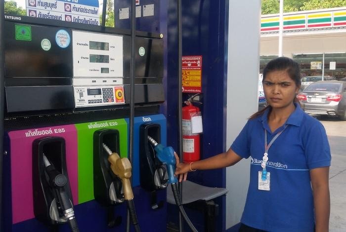 Fill 'n' run leaves gas attendant fuming | The Thaiger