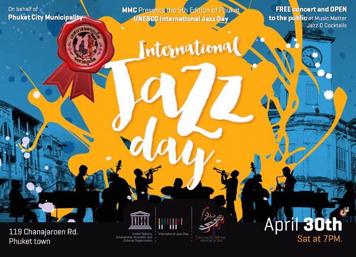 Phuket plays its part in International Jazz Day festivities tonight | The Thaiger