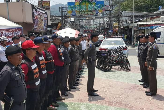 Phuket security force boosted by 200 for Songkran | The Thaiger