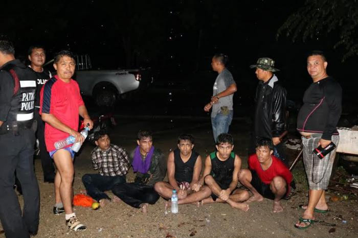 Police capture more Rohingya on the run | The Thaiger