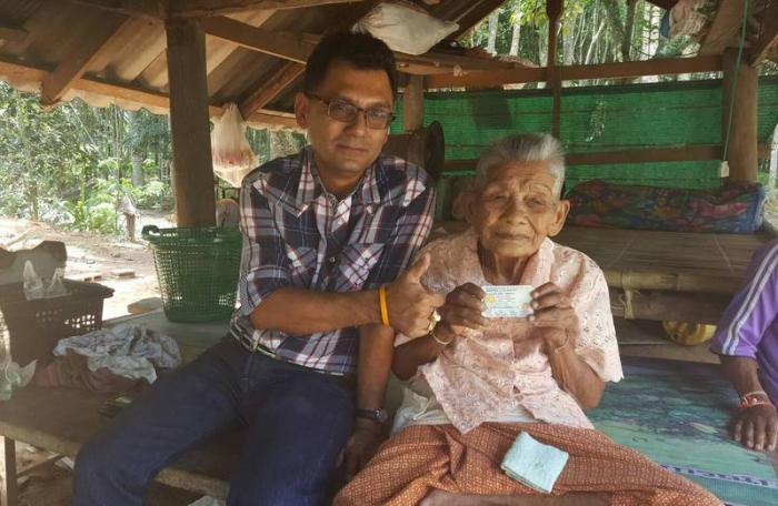 109-year-old grandma oldest person in Krabi | The Thaiger