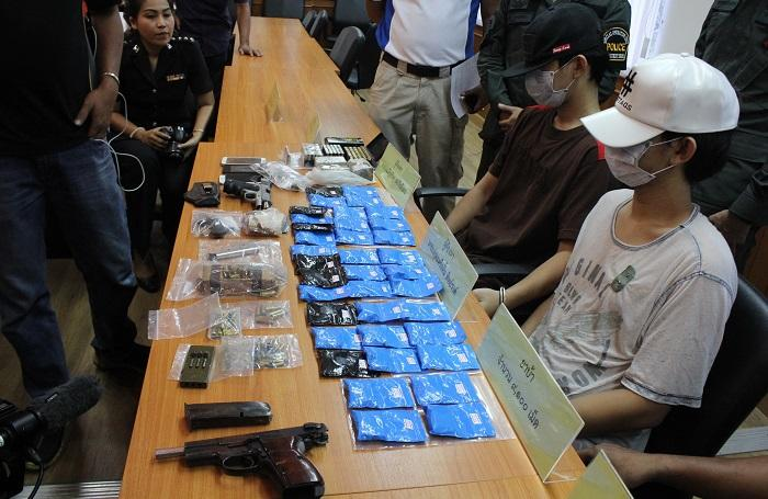 Phuket drug ring found weapons online | The Thaiger