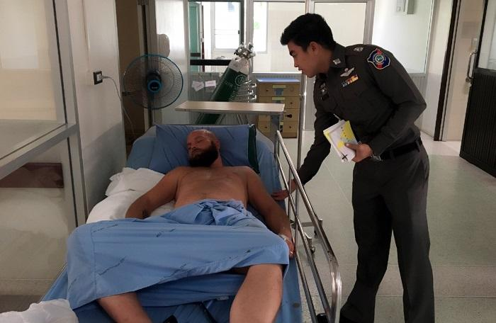 Swedish tourist beaten up by Patong tuk tuk driver and friends | The Thaiger