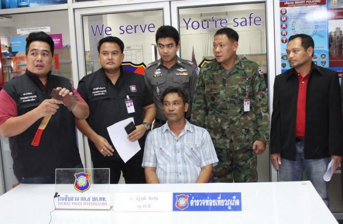 Airport axe-man charged, gets licence suspended [video] | Thaiger