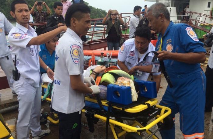 Two dead, 20 injured in speedboat collision [video]   Thaiger