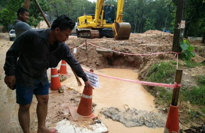 Body of baby found at construction site | The Thaiger