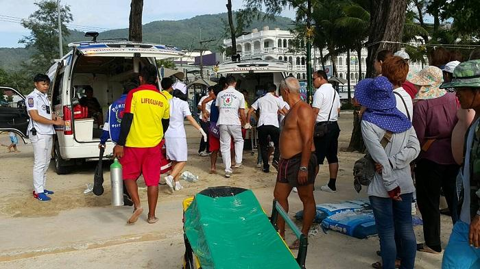 Kuwaiti father dies during swim at Patong Beach | The Thaiger