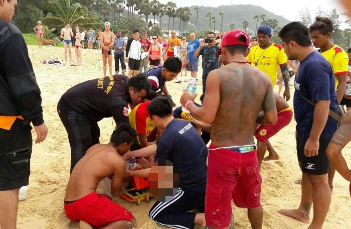 Russian loses life in red flag swim at Karon Beach | The Thaiger