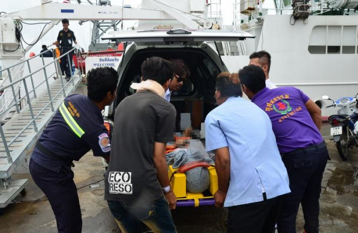 Three rescued after boat sinks off Phuket, 6 still missing | The Thaiger