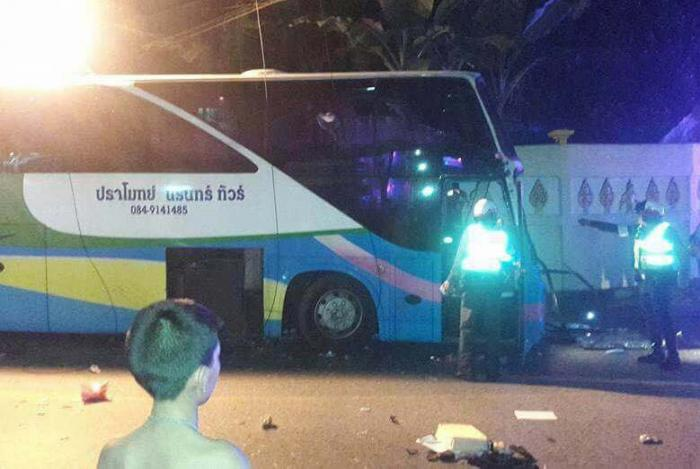 409d4dceed Bus driver flees after Chinese tourists injured in crash