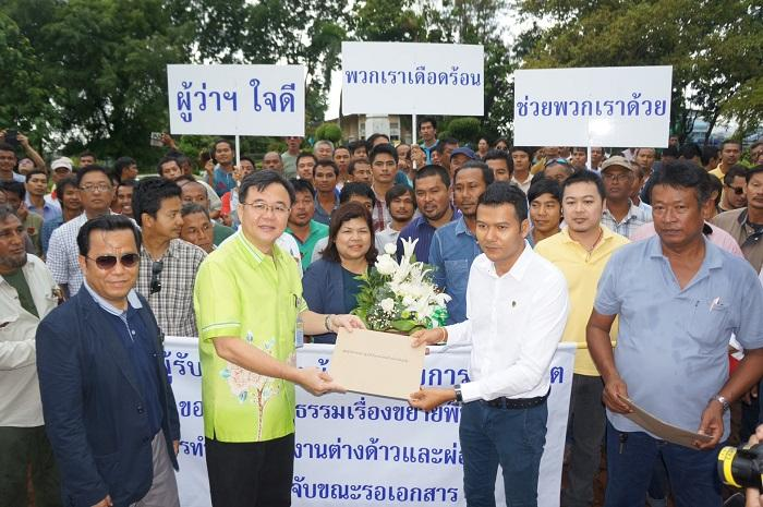 Contractors demand fairness from Employment Office | The Thaiger