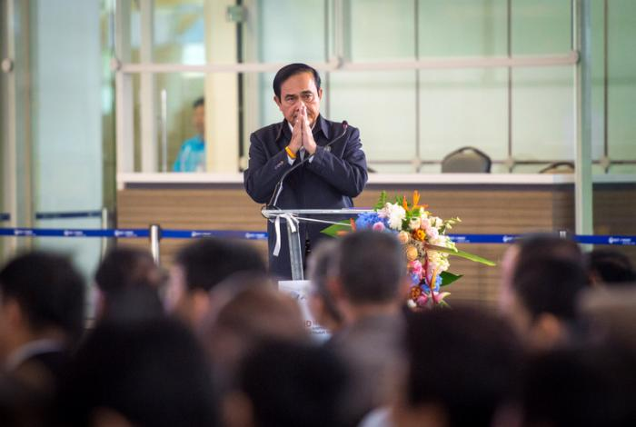 PM opens international terminal | The Thaiger
