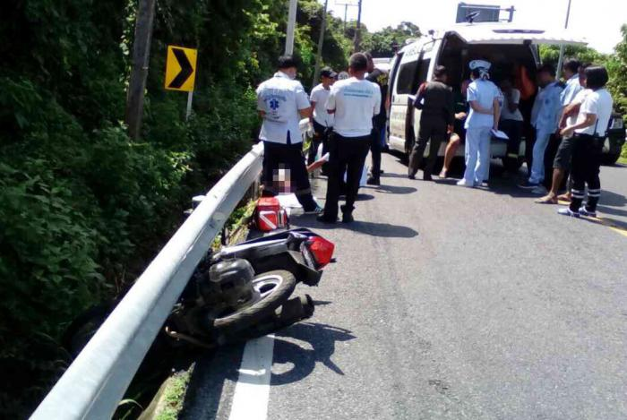 Italian man killed on Phuket road bend | The Thaiger