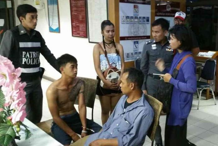 """Professional' pickpockets beaten by Phuket locals 