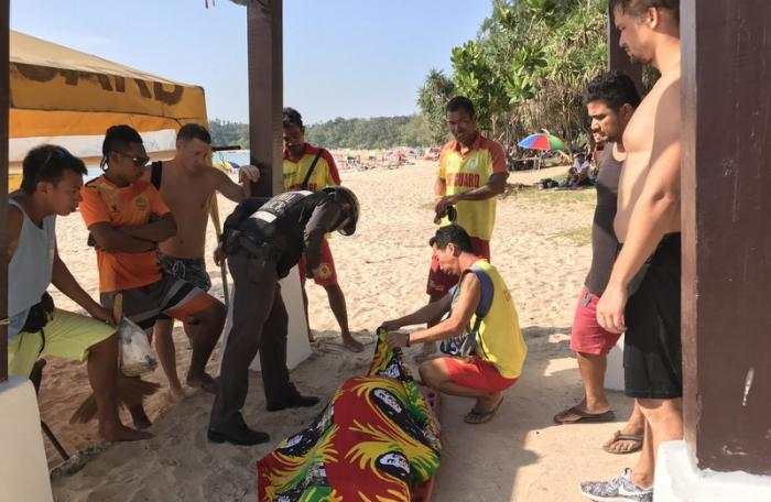 Another unidentified foreigner found dead, at Phuket Beach | The Thaiger