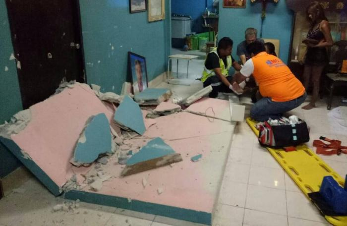 Portuguese expat injured as wall collapses in Phuket | The Thaiger
