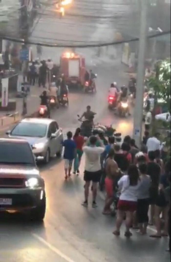 Snarled wires cause electric fire in Phuket | The Thaiger