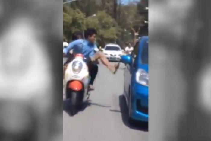 Road-raging Phuket teen biker to pay up | The Thaiger