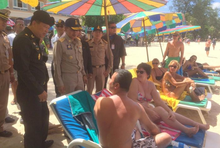 Army reverses decision on Phuket sun loungers | The Thaiger