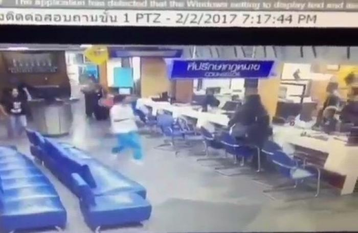 Video: Lovelorn student asks to be shot at Phuket police station | The Thaiger