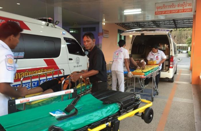 Two teenagers stabbed by youth gang in Phuket   The Thaiger