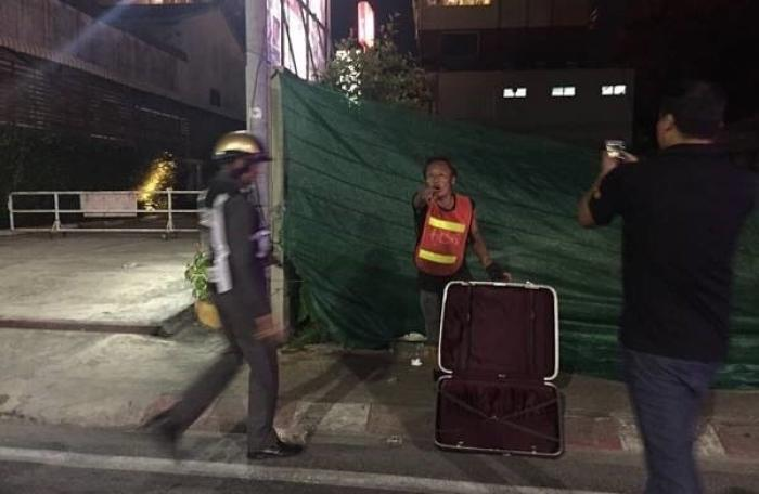 Abandoned luggage causes bomb scare in Phuket Town | The Thaiger