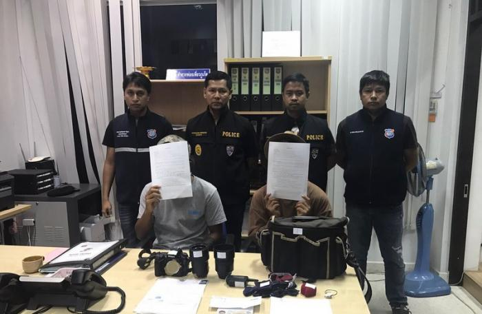 Chinese national and hilltribe man arrested for working illegally in Phuket | The Thaiger