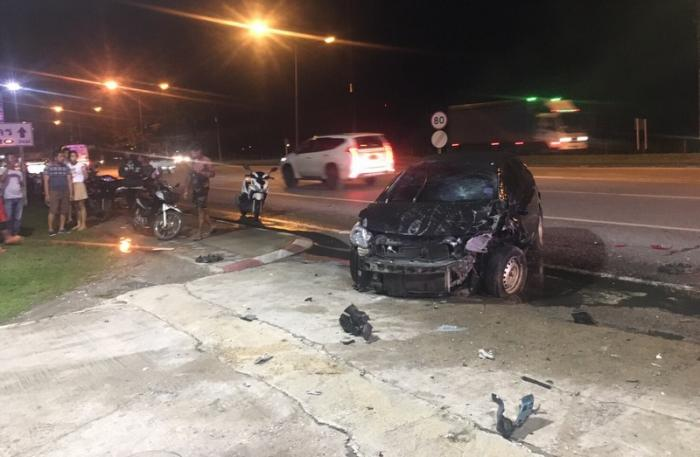 Ghost riding Phuket motorcyclist killed in collision with British woman | The Thaiger
