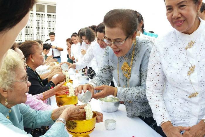 Traditional Songkran festivities held in Chalong, Phuket Town   The Thaiger