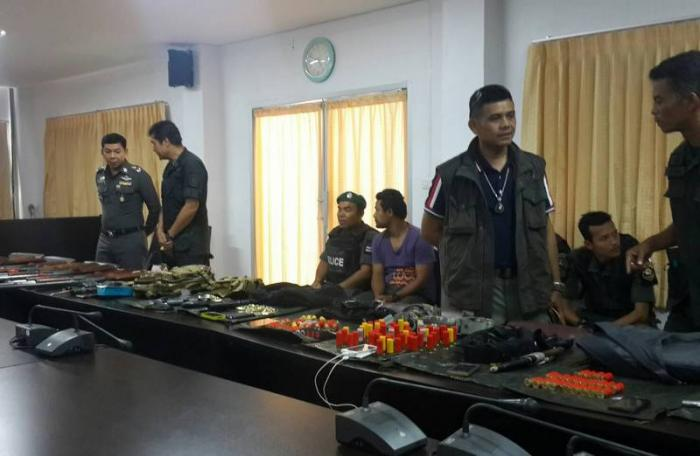 Ex-military among those arrested for criminal association in Krabi | The Thaiger