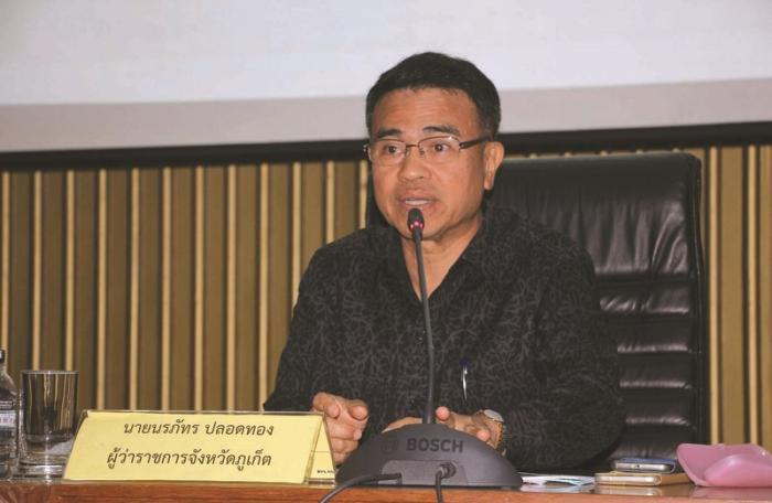 First priority is to beautify Phuket, says Gov Norraphat | The Thaiger