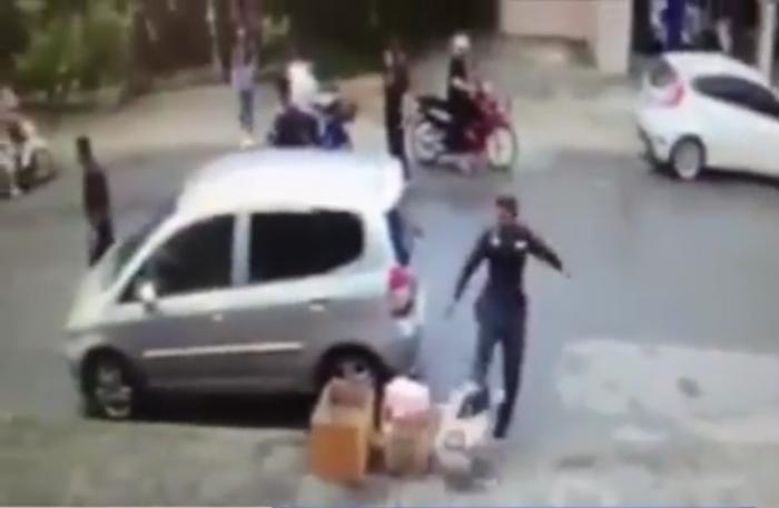 Krabi cop and ladyboy embroiled in road rage   The Thaiger