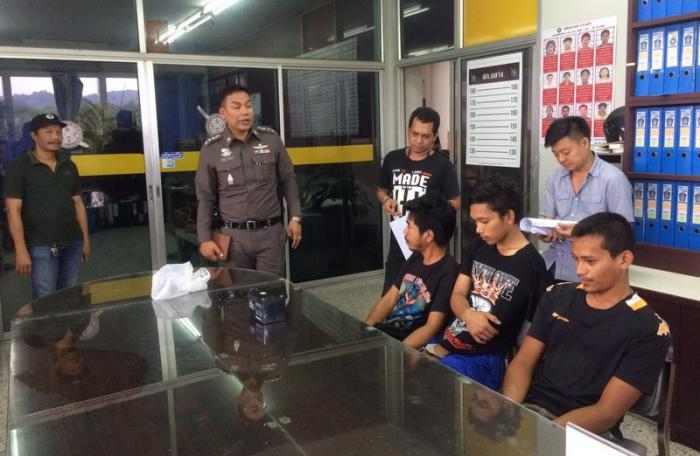 Three arrested in Phuket for serial theft, possession of drugs | The Thaiger