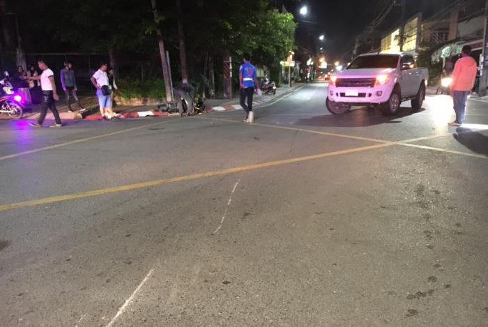 Young Thai killed in collision with Korean expat   The Thaiger