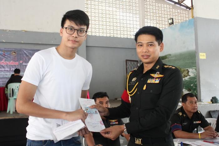 Phuket celebrity temporarily avoids Military draft, encourages others instead | The Thaiger