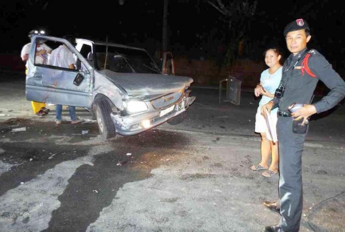 Birthday-boy survives near-fatal Phuket crash | The Thaiger