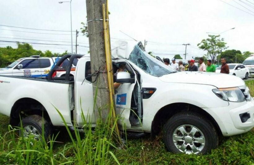One injured in single-vehicle Phuket crash | The Thaiger