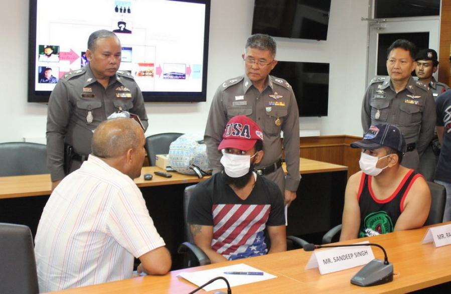 Fake passport suspects recaptured after escaping police custody | The Thaiger