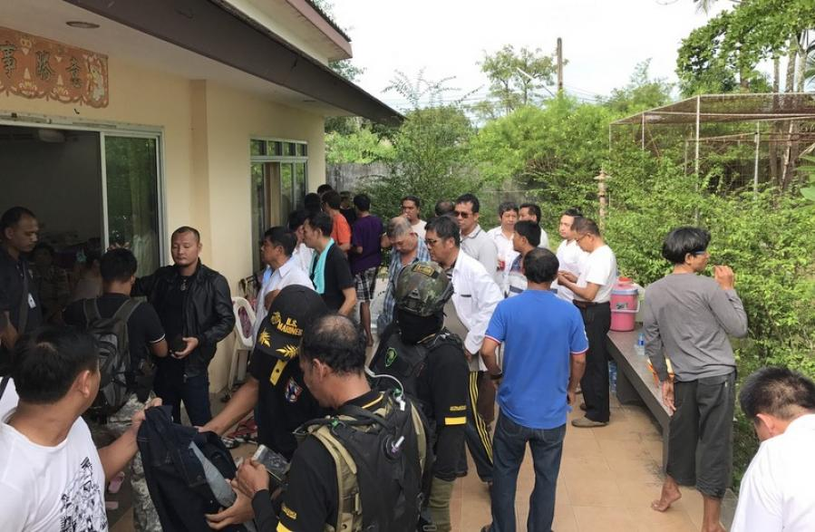 Major Phuket 'casino' raid: 63 arrested, B2mn confiscated | The Thaiger