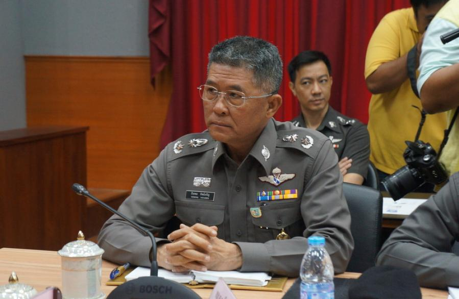 Three top cops transferred out on alleged corruption charges   The Thaiger