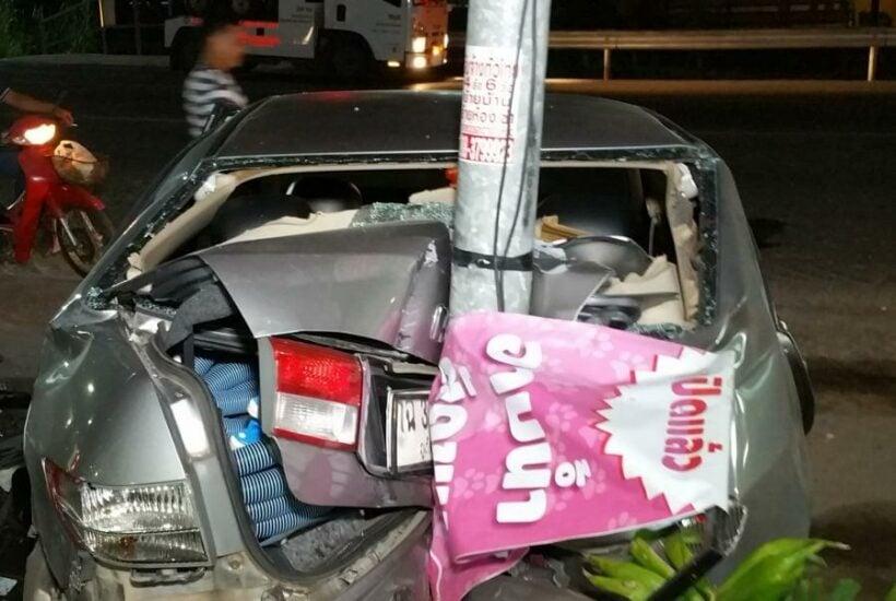 Four injured as speeding car ploughs through motorists in Phuket | The Thaiger