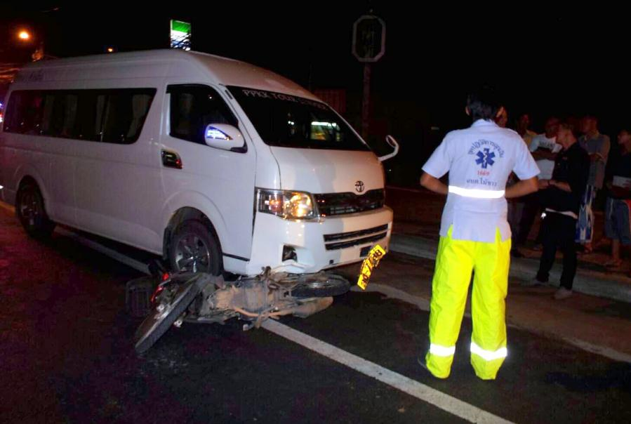 One dead in Phuket after fatal overtake attempt | The Thaiger