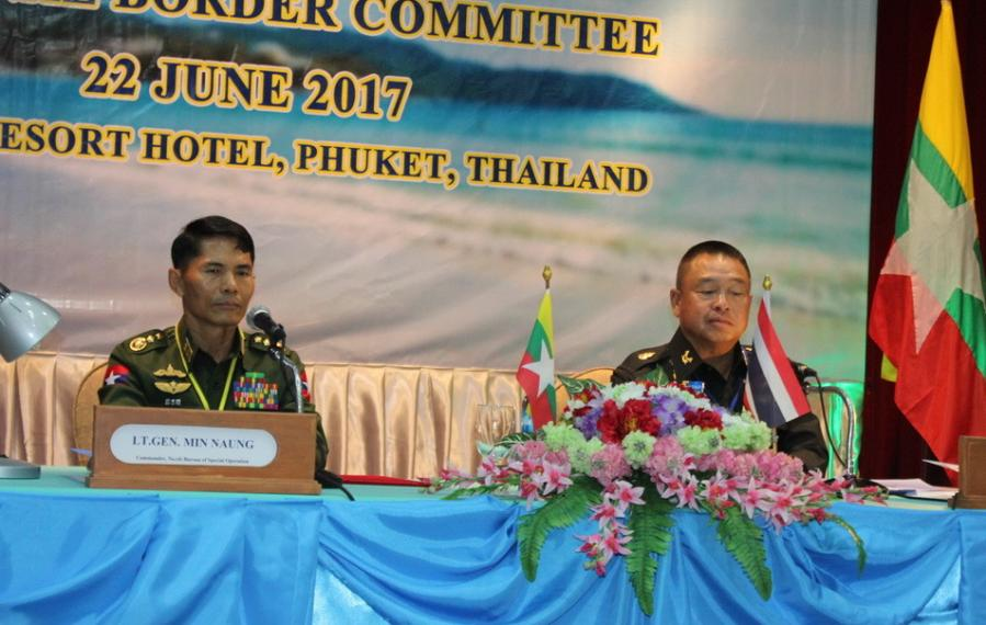 Good Thai-Myanmar relations highlighted at border management meeting in Phuket | The Thaiger