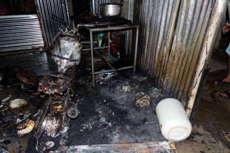 Motorbike in Phuket worker's kitchen explodes, reaps big damage in Thalang | The Thaiger