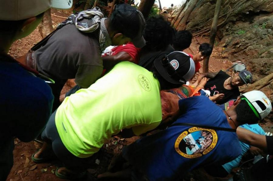 American tourist badly injured in rock climbing fall | The Thaiger