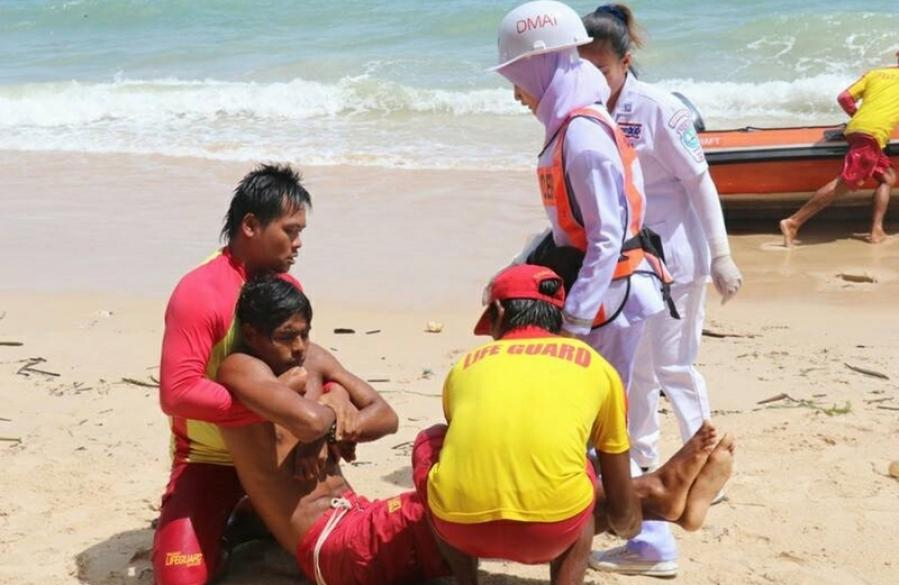 Deputy PM kicks off tourist safety drill in Phuket | The Thaiger
