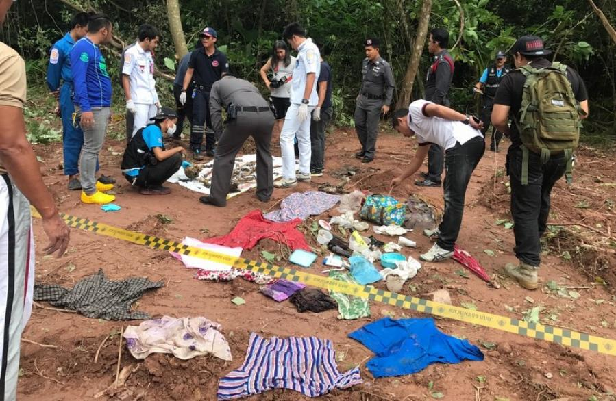 Human remains discovered in Phuket forest believed to be those of a Burmese woman's | The Thaiger
