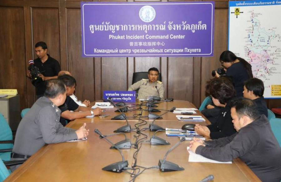 "Phuket Gov announces checkpoint as ""temporary solution' for accidents 