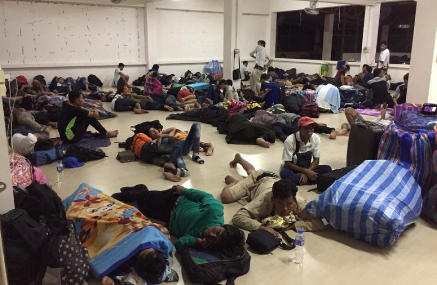 New labor laws see hundreds of migrant workers fired, sent home | The Thaiger